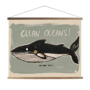 Image of Studioloco Clean Oceans Canvas Plakat one size (1760897)