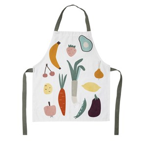 Image of Bloomingville Apron Fruits Cotton One Size (1573901)