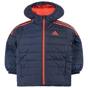 Image of adidas Performance 3 Stripes Puffer Jacket Navy 11-12 years (152 cm) (1765125)