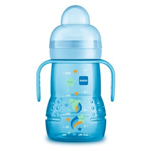Image of MAM Trainer+ Baby Bottle Blue 220 ml One Size (976309)