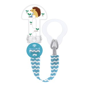 Image of MAM Clip It Adjustable Pacifier Clip Blue One Size (1222644)