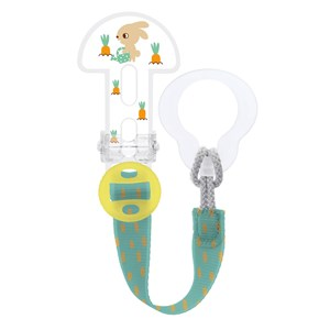 Image of MAM Clip It Adjustable Pacifier Clip Neutral One Size (1222645)