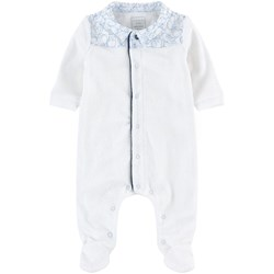 Carrément Beau Footed Baby Body White
