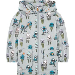 Stella McCartney Kids Grey Ice Cream Print Water Repellent Jax Jacket