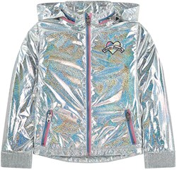 The Marc Jacobs Iridescent Regnjacka Silver