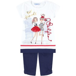Mayoral Navy Best Friends Tunic and Legging Set