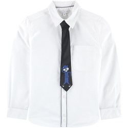 The Marc Jacobs White Oxford Shirt with Removable MJ Tie