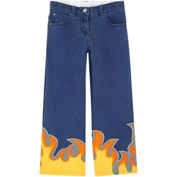 Stella McCartney Kids Blue Denim Flame Jeans
