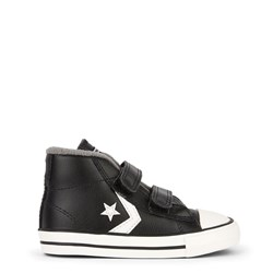 Converse Black Star Player 2V Baby Mid Sneakers