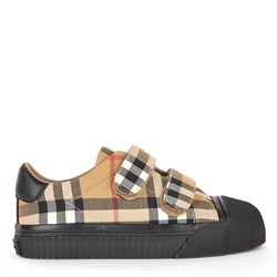 Burberry Vintage Check Sneakers Antique Yellow