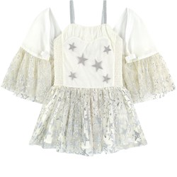 Stella McCartney Kids Silver Stars Dress