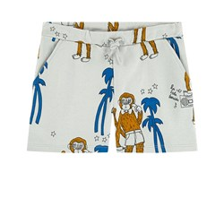 Mini Rodini Cool Monkey Sweatshorts Grey