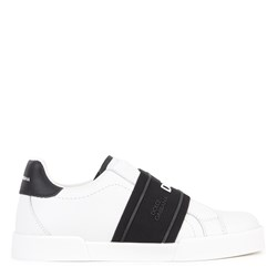 Dolce & Gabbana Logo Sneakers White and Black
