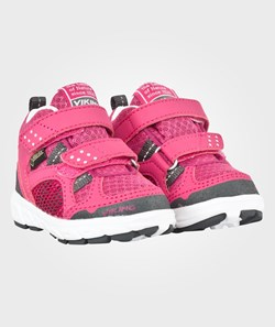Viking Hobbit Mid Gtx Dark Pink/Grey