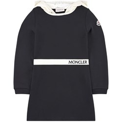 Moncler Milano jersey dress with a hood
