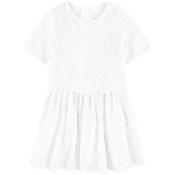 Carrément Beau Embroidered Dress White