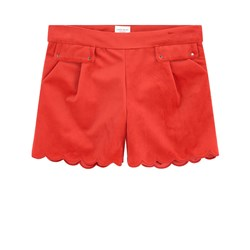 Carrément Beau Velvet Shorts Red