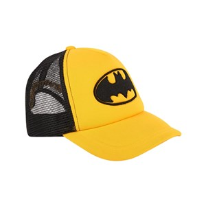 Image of Eleven Paris Embroidered Batman Cap Yellow 12-16 years (1676157)