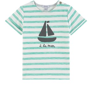 Image of Absorba Striped Baby T-Shirt Green 6 mdr (1699546)