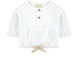 Play Up Топ Crease Top White