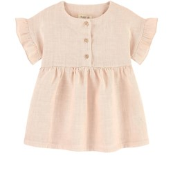 Play Up Linen Dress Pale pink