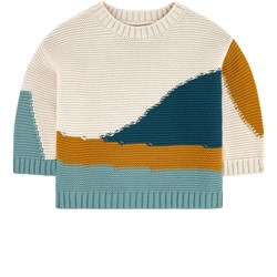 Play Up Knitted Sweater Beige