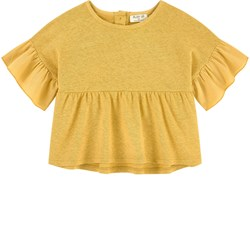 Play Up Slub Top Yellow