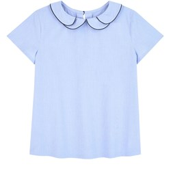 Jacadi Blouse with a double collar