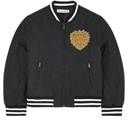 Dolce & Gabbana Mini Me Bomber Jacket Black