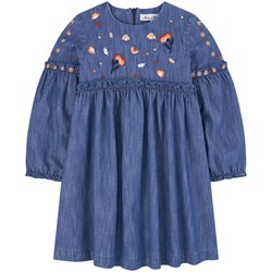 Tartine et Chocolat Embroidered jean dress