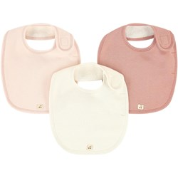 Bonpoint Pack of 3 bibs 20x18 cm (7.8 X 7 inches)