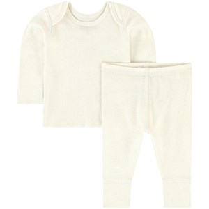 Image of Bonpoint 2-piece Baby Set White 6 mdr (1759821)