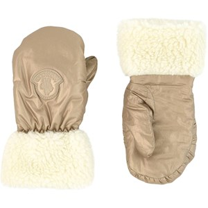 Image of Moncler Faux fur-lined mittens 11/12 years (1735075)