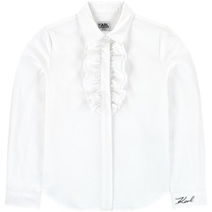 Image of Karl Lagerfeld Kids Poplin blouse 6 år (1702770)