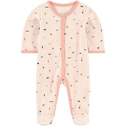 Absorba Footed Baby Body Pink