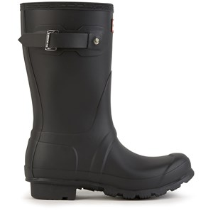 Image of Hunter Short matt Wellington boots - Original Short Black 36 EU (1684010)