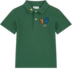 Lacoste Polo with patches