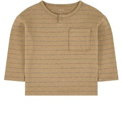 Play Up Striped T-Shirt Brown