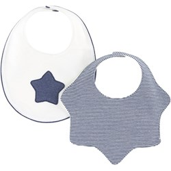Mayoral 2-Pack Star And Stripe Bibs