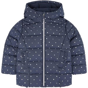 Image of Petit Bateau Printed padded jacket with a fleece lining 10 år (1706307)