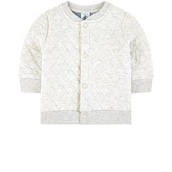 Petit Bateau Quilted jersey cardigan