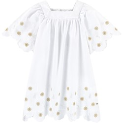 Tartine et Chocolat Flower Dress White