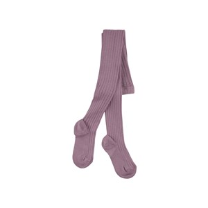 Image of Condor Amethyst ribbed knit Baby tights 0-3 months (1715804)