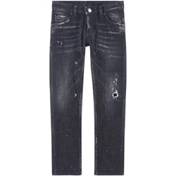 Dsquared2 Clement Skinny Fit Jeans Svarte