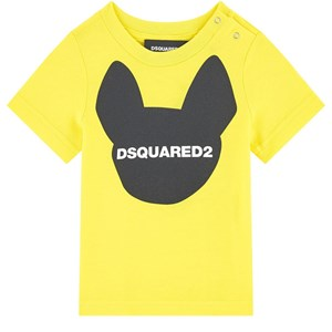 Image of DSquared2 Logo T-Shirt Yellow 6 mdr (1721139)