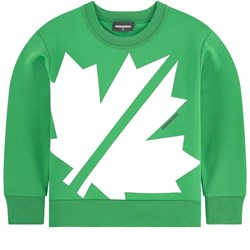 DSquared2 Graphic Sweater Green