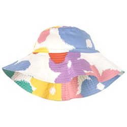 Stella McCartney Kids Multi Flowers Sun Hat White