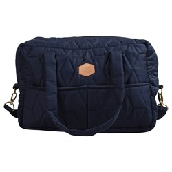 Filibabba Mommy Soft Quilt Changing Bag Dark blue