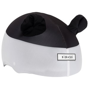 Image of Dinoski Patch the Panda Helmet Cover Black/White one size (1611794)