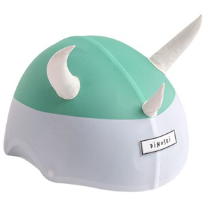 Image of Dinoski Spike the Dino Helmet Cover Green one size (1611795)